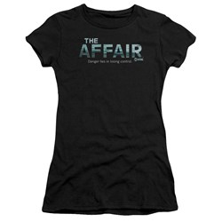 Affair - Juniors Ocean Logo Premium Bella T-Shirt