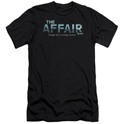 Affair - Mens Ocean Logo Premium Slim Fit T-Shirt