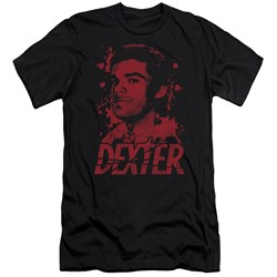 Dexter - Mens Born In Blood Premium Slim Fit T-Shirt