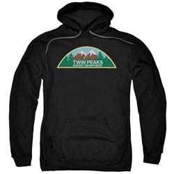 Twin Peaks - Mens Sheriff Department Pullover Hoodie
