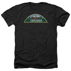 Twin Peaks - Mens Sheriff Department Heather T-Shirt