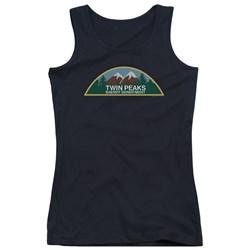 Twin Peaks - Juniors Sheriff Department Tank Top