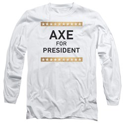 Billions - Mens Axe For President Long Sleeve T-Shirt