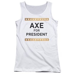 Billions - Juniors Axe For President Tank Top