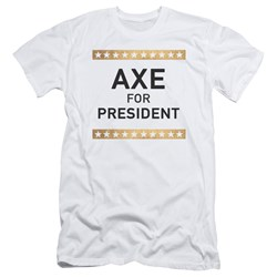 Billions - Mens Axe For President Slim Fit T-Shirt