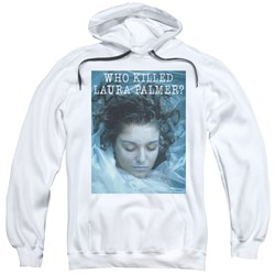 Twin Peaks - Mens Who Killed Laura Pullover Hoodie