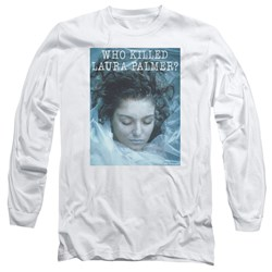 Twin Peaks - Mens Who Killed Laura Long Sleeve T-Shirt