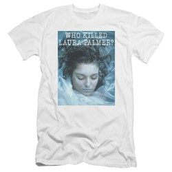 Twin Peaks - Mens Who Killed Laura Premium Slim Fit T-Shirt