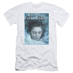 Twin Peaks - Mens Who Killed Laura Slim Fit T-Shirt
