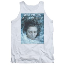 Twin Peaks - Mens Who Killed Laura Tank Top