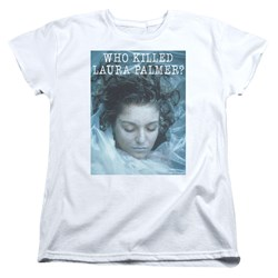 Twin Peaks - Womens Who Killed Laura T-Shirt