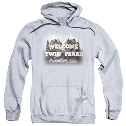 Twin Peaks - Mens Welcome To Pullover Hoodie