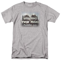 Twin Peaks - Mens Welcome To T-Shirt