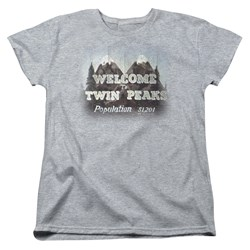 Twin Peaks - Womens Welcome To T-Shirt