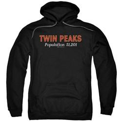 Twin Peaks - Mens Population Pullover Hoodie