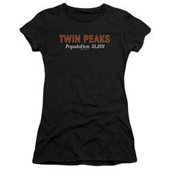Twin Peaks - Juniors Population T-Shirt