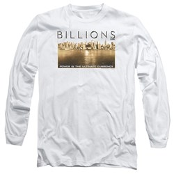 Billions - Mens Golden City Long Sleeve T-Shirt