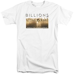 Billions - Mens Golden City Tall T-Shirt