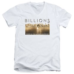 Billions - Mens Golden City V-Neck T-Shirt