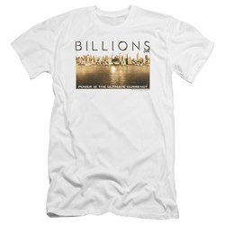 Billions - Mens Golden City Premium Slim Fit T-Shirt