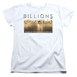Billions - Womens Golden City T-Shirt