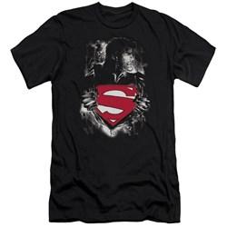 Superman - Mens Darkest Hour Premium Slim Fit T-Shirt