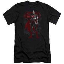 Superman - Mens Aftermath Premium Slim Fit T-Shirt