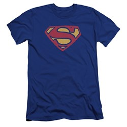 Superman - Mens Super Rough Premium Slim Fit T-Shirt