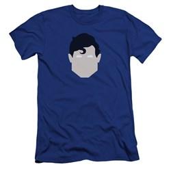Superman - Mens Supes Head Premium Slim Fit T-Shirt