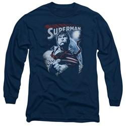 Superman - Mens Honor And Protect Long Sleeve T-Shirt