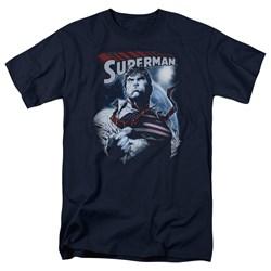 Superman - Mens Honor And Protect T-Shirt