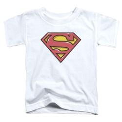 Superman - Toddlers Airbrush Shield T-Shirt