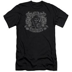 Sons Of Anarchy - Mens Original Reaper Crew Premium Slim Fit T-Shirt