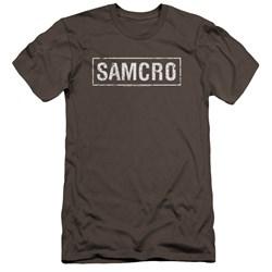 Sons Of Anarchy - Mens Samcro Premium Slim Fit T-Shirt