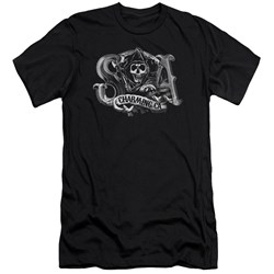 Sons Of Anarchy - Mens Charming Ca Premium Slim Fit T-Shirt