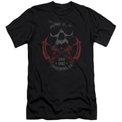 Sons Of Anarchy - Mens Cross Guns Premium Slim Fit T-Shirt