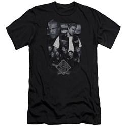 Sons Of Anarchy - Mens Ties That Bind Premium Slim Fit T-Shirt