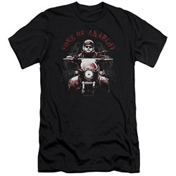 Sons Of Anarchy - Mens Ride On Premium Slim Fit T-Shirt