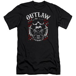 Sons Of Anarchy - Mens Outlaw Premium Slim Fit T-Shirt