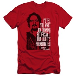 Sons Of Anarchy - Mens With Tig Premium Slim Fit T-Shirt