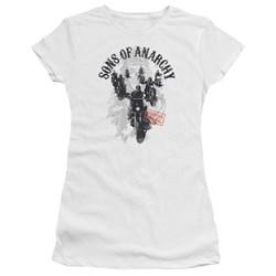 Sons Of Anarchy - Juniors Reapers Ride Premium Bella T-Shirt
