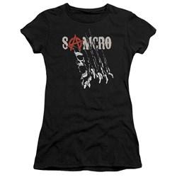 Sons Of Anarchy - Juniors Rip Through Premium Bella T-Shirt