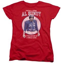 Married With Children - Womens Football Legend T-Shirt
