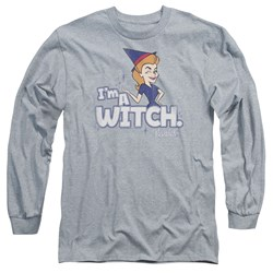 Bewitched - Mens Im A Witch Long Sleeve T-Shirt
