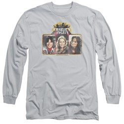 Charlies Angels - Mens Trio Block Long Sleeve T-Shirt
