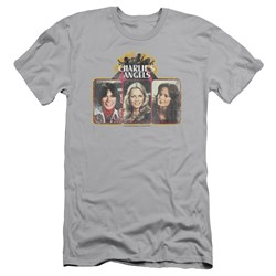 Charlies Angels - Mens Trio Block Premium Slim Fit T-Shirt