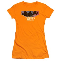 Charlies Angels - Juniors Tri-Color Angels T-Shirt