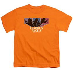 Charlies Angels - Youth Tri-Color Angels T-Shirt