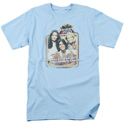 Charlies Angels - Mens Now They Work For Me T-Shirt