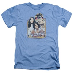 Charlies Angels - Mens Now They Work For Me Heather T-Shirt